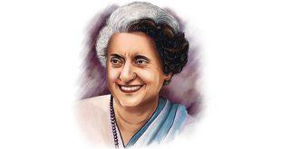 Indira Gandhi English Essay for Students and Children