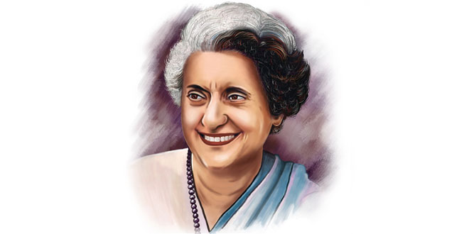 Indira Gandhi English Essay for Students and Children