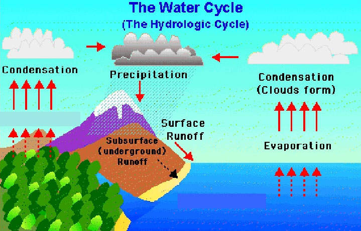 Hydrological-cycle