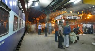 Scene at a Railway Platform: English essay for students