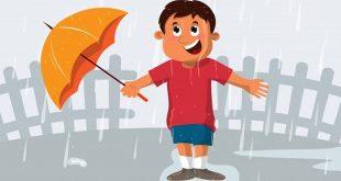 बरसात के एक दिन पर हिंदी निबंध