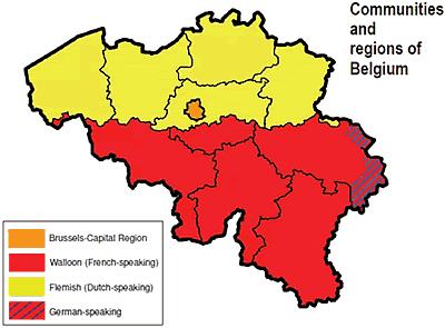 Communities and regions of Belgium