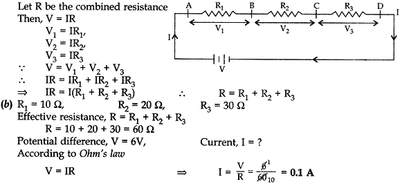 Combined resistance