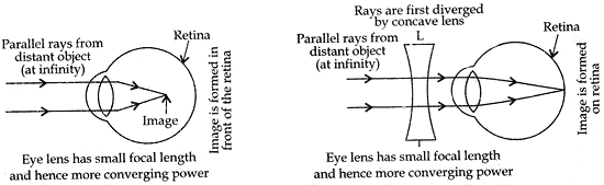 ray diagram to illustrate