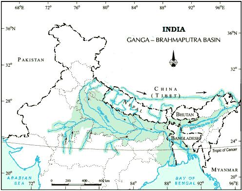 Ganga-Brahmputra Basin