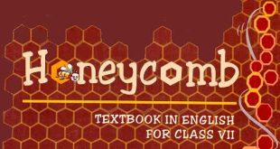 7th Class English textbook Honeycomb