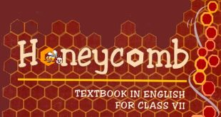 7th Class English textbook Honeycomb