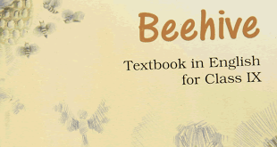 9th Class CBSE English Beehive